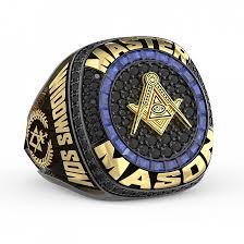 masonic custom ring