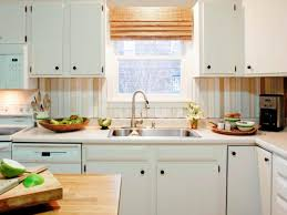 DoItYourself DIY Kitchen Backsplash Ideas HGTV Pictures HGTV Fascinating Wood Stove Backsplash Creative