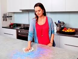 what is the effect of oven cleaner on kitchen countertops 4