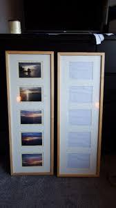 2 x birch ikea ribba photo frames 5 aperture