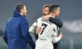 يوفنتوس: رونالدو يحيي بيرلو ، بونوتشي يرحب بأليجري - فوتبول إيطاليا