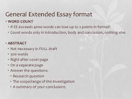senior extended essay workshop 6 general extended essay formatbull word