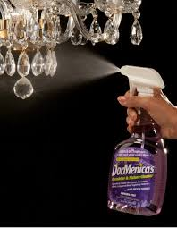 chandelier cleaner extend a finish