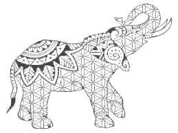Small Picture Elephant Mandala Coloring Pages For Adults Coloring Pages