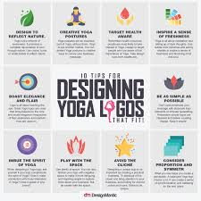 Logo Design Tips 10 Tips For Designing Yoga Logos That Fit Visual Ly