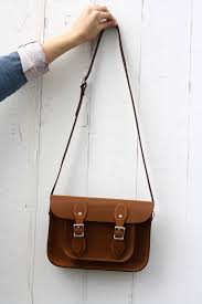 the leather satchel company leather satchel bag front cropped image