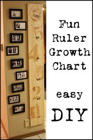 Ruler Growth Chart You Can Take This With You No Matter