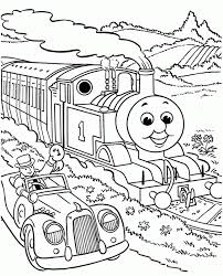 Thomas The Engine Coloring Pages Coloring Home