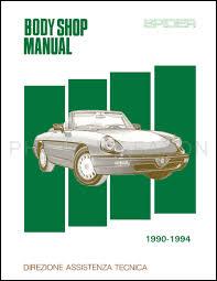 1982 1991 alfa romeo engine overhaul manual reprint related items