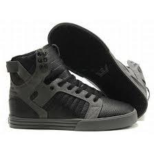 Supra Vaider Review Mens Skytop Black Grey Supra Shoes Size