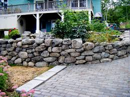 Small Picture Rock Walls for the Ages Choosing the Right Stone Rock wall
