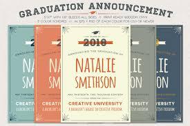 Print Graduation Announcement Good Looking Graduation Announcement Templates