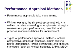 appraisal types ppt video online  performance appraisal methods