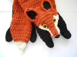 Crochet Fox Pattern Amazing Fox Scarf Crochet Pattern Crochet Fox Scarf Diy Fox Scarf With Free