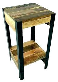 reclaimed wood accent table small reclaimed wood accent table with shelf somerset coffee end wooden side best t small round wooden accent table reclaimed