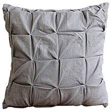 european sham covers. Wonderful Sham Luxury Grey Euro Shams Pillow Covers 26u0026quotx26u0026quot Grey Textured  Knotted In European Sham A