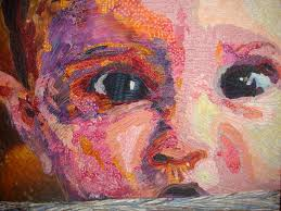 Fabric and Quilt Art at the Cinema Place Gallery in Hayward, CA ... & Bruce ... Adamdwight.com