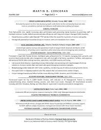 Resume Samples For Sales Manager National Sales Manager Resume