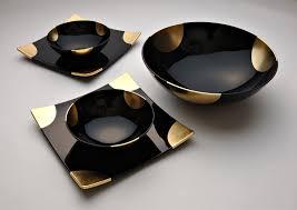Japanese Dining Set Ideas Of Modern Japanese Geometric Ceramic White And Blue Rice