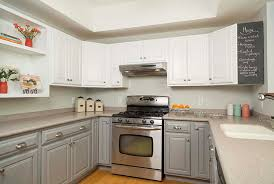 get the look of new kitchen cabinets the easy way cabinet transformations