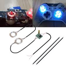 Led Light Xbox One Controller Playstation 7color Led Light Thumb Sticks Mod Thumbstick Caps Led Light Analog Thumb Sticks For Ps4 For Xbox One