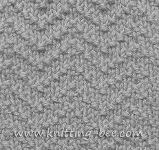 Chevron Knitting Pattern Extraordinary Chevron Seed Stitch Knitting Pattern ⋆ Knitting Bee