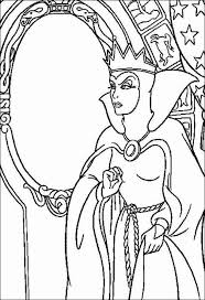 Small Picture Snow White Witch coloring page