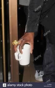Hotel Estelle Estelle Leaving Her Hotel Carrying A Mug London England 0306