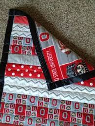 Ohio State Buckeyes Quilt - Makes me want to learn to quilt ... & Ohio State Baby Quilt by KaddysKrafts on Etsy, $50.00 Adamdwight.com