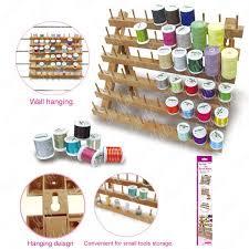 sewmate 60 peg spool rack thread organiser