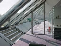 norman foster office. Office Corridor With Emergency Exit Norman Foster A