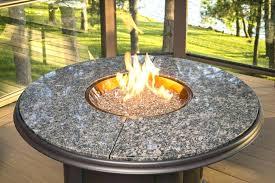 beautiful fire pit glass rocks be equipped blue rock in propane beads fireplace diy minimalist pits