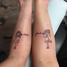 70 Popular Best Friend Tattoo Ideas That Show A Strong Bond