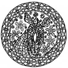 Small Picture Difficult Mandalas for adults 100 Mandalas Zen Anti stress