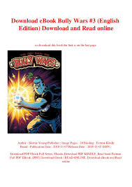 Download Ebook Bully Wars 3 English Edition Download And