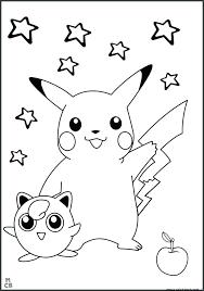Pikachu Coloring Sheets Momchilovtsiinfo