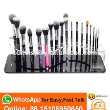 branded mac minerals flawless face foundation makeup brush display brush cosmetic display