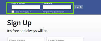 Facebook Login Sign In Facebook Login And Password Page Facebook Login