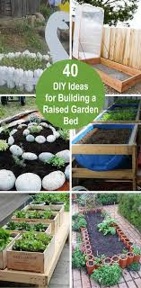 diy ideas for building a raised garden