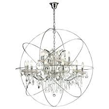large orb chandelier. Astounding Large Orb Chandelier With Crystals Image Ideas H