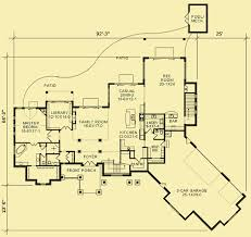 main level floor plans for fantastic rear view