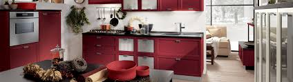 Red And Gold Kitchen Party Colors