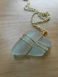 sea gl jewelry wire wrapped beach gl by seafinddesigns 20 00 jewelry ideas sea gl jewelry gl jewelry and wire jewelry