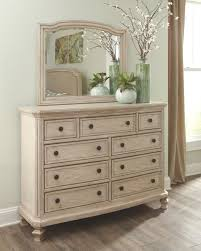 Demarlos Dresser and Mirror, Parchment White | Products in 2019 ...
