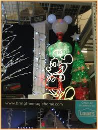 lowes mickey christmas decorations
