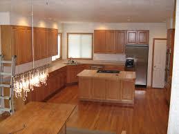 Kitchen Flooring Ideas With Honey Oak Cabinets