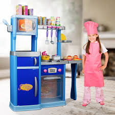 kidschildrens pretend play role play kitchen  with lights and