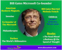Bill Gates Microsoft Co-founder Biography