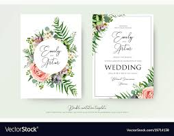 Elegant Invitation Cards Elegant Floral Wedding Invitation Card Design