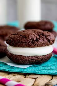 homemade oreos with cream cheese frosting cake mix cookies from the food charlatan